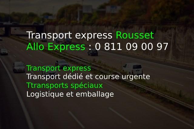 Transport express Rousset