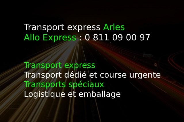 Transport express Arles